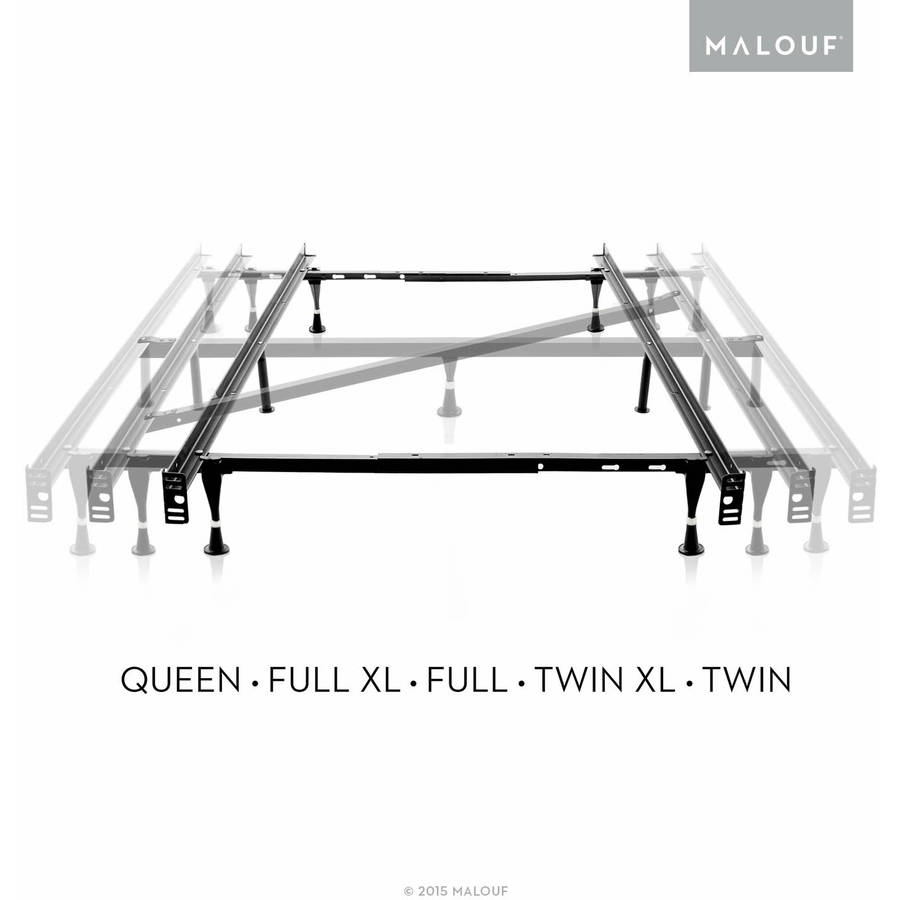 structures adjustable metal bed frame queen full xl full twin xl - Xl Twin Bed