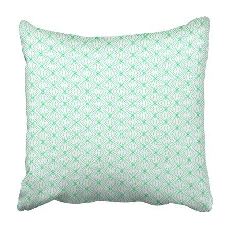 Modern Lace Damask (USART Diamond Graphic Pattern Geometric Modern Wave Vintage Damask Lace Rhombus Pillowcase 18x18 inch )