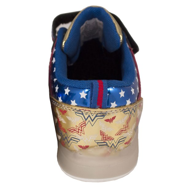Wonder Woman Lighted Canvas Child Sneakers