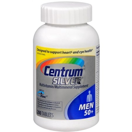 Centrum Silver Ultra Mens Tablets 200 Tablets