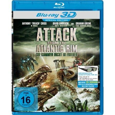 Attack from the Atlantic Rim ( Atlantic Rim ) ( Attack from Beneath (5,000 Fathoms Deep) ) (3D & 2D) [ NON-USA FORMAT, Blu-Ray, Reg.B Import - Germany ] ()