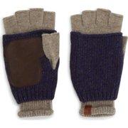 Ben Sherman Double Layer Knit Fingerless Gloves
