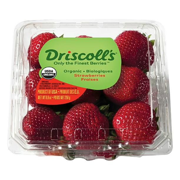 Driscoll S Organic Strawberries 8 8 Oz Walmart Com Walmart Com