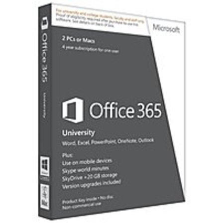 Microsoft Office 365 University (2 PCs or Macs, 4-year subscription) Verification Required Promo Code