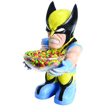 Wolverine Candy Bowl Holder Halloween Costume Accessory (Mystery Bowls For Halloween)