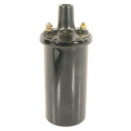 Distributor Coil - 12 Volt, Internal Resistor (Resistor Auto)