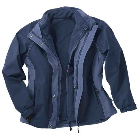 - River's End Womens 3-in-1 Zip Out Jacket  Outerwear
