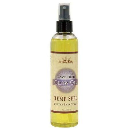 Earthly Body Moisturizing Spray Oil - Lavender, 8.0 oz.