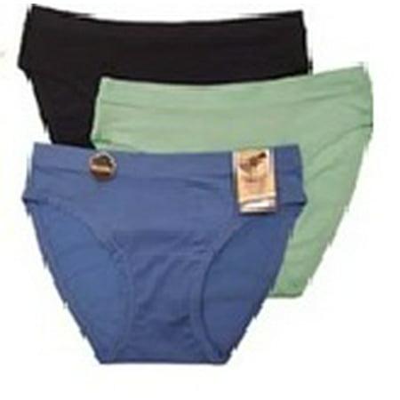 Avia Women's Perforated Mesh Sport Bikini Panties, 3 Pack