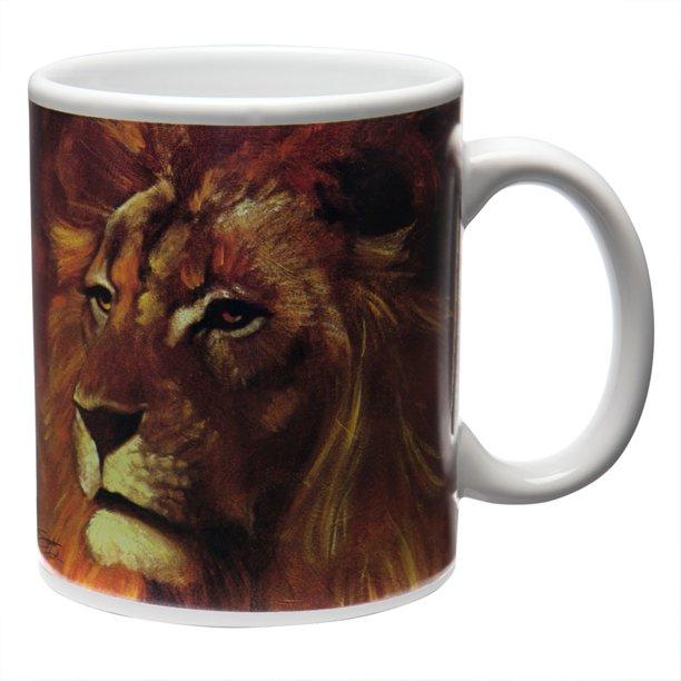 Stephen Fishwick Lion Coffee Mug Walmart Com Walmart Com