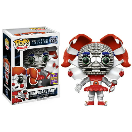Funko POP! Games Five Nights at Freddys Sister Location: Jumpscare Baby Summer (Convention Exclusive), Vinyl Figure