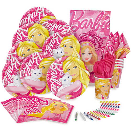 Value Barbie Party Kit for 8