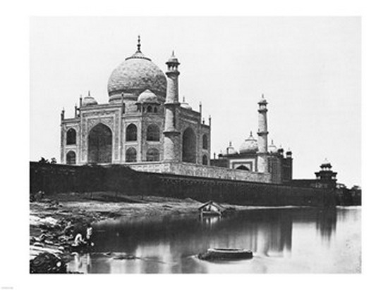 Felice Beato Taj Mahal 1865 Poster Print (24 x 18) by PD Images
