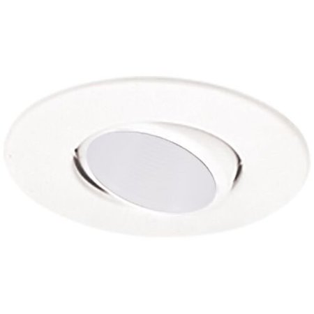 (Elco Lighting Gimbal Ring Deep Baffle 4'' LED Recessed Trim)