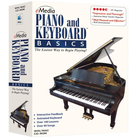 eMedia Music EK02104 eMedia Piano and Keyboard Basics V3.0