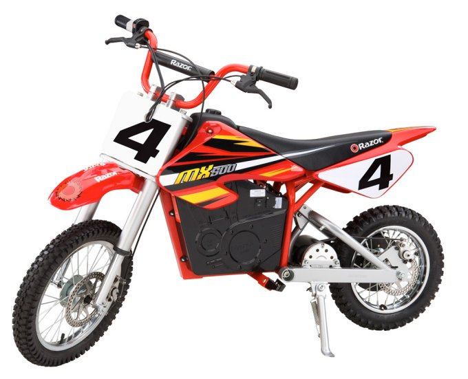 Razor MX500 Kids Dirt Rocket Supercross 15 MPH Electric Bike Motorcycle Toy by Razor
