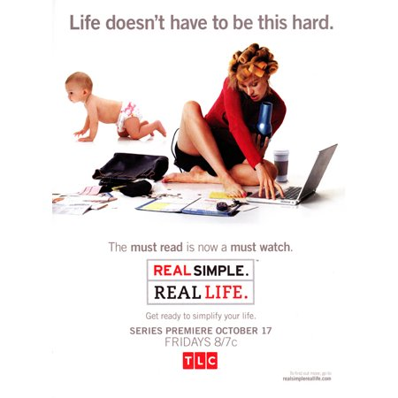 Real Simple. Real Life. - movie POSTER (Style A) (11