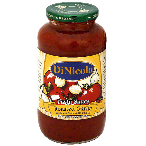 Dinicola Roasted Garlic Sauce, 26 oz (Pack of 12)