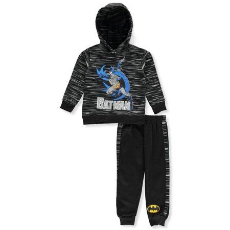 Batman Boys' 2-Piece Pants Set Outfit (Batman Outfit)