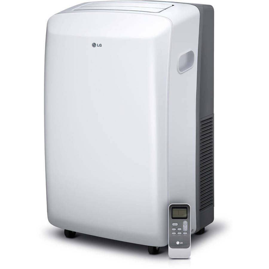 LG 8,000 BTU Portable Air Conditioner With Remote Control, Window Kit, 115v, Factory Reconditioned