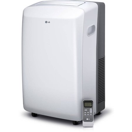 Manual A/c Controls - LG 8,000 BTU Portable Air Conditioner With Remote Control, Window Kit, 115v, Factory Reconditioned