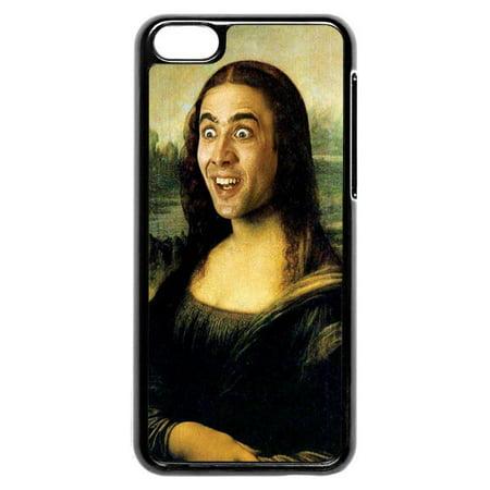 Nicolas Cage Mona Lisa Iphone 5C Case