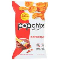 Popchips Potato Chip, Bbq, 5 Oz, Pack Of 12