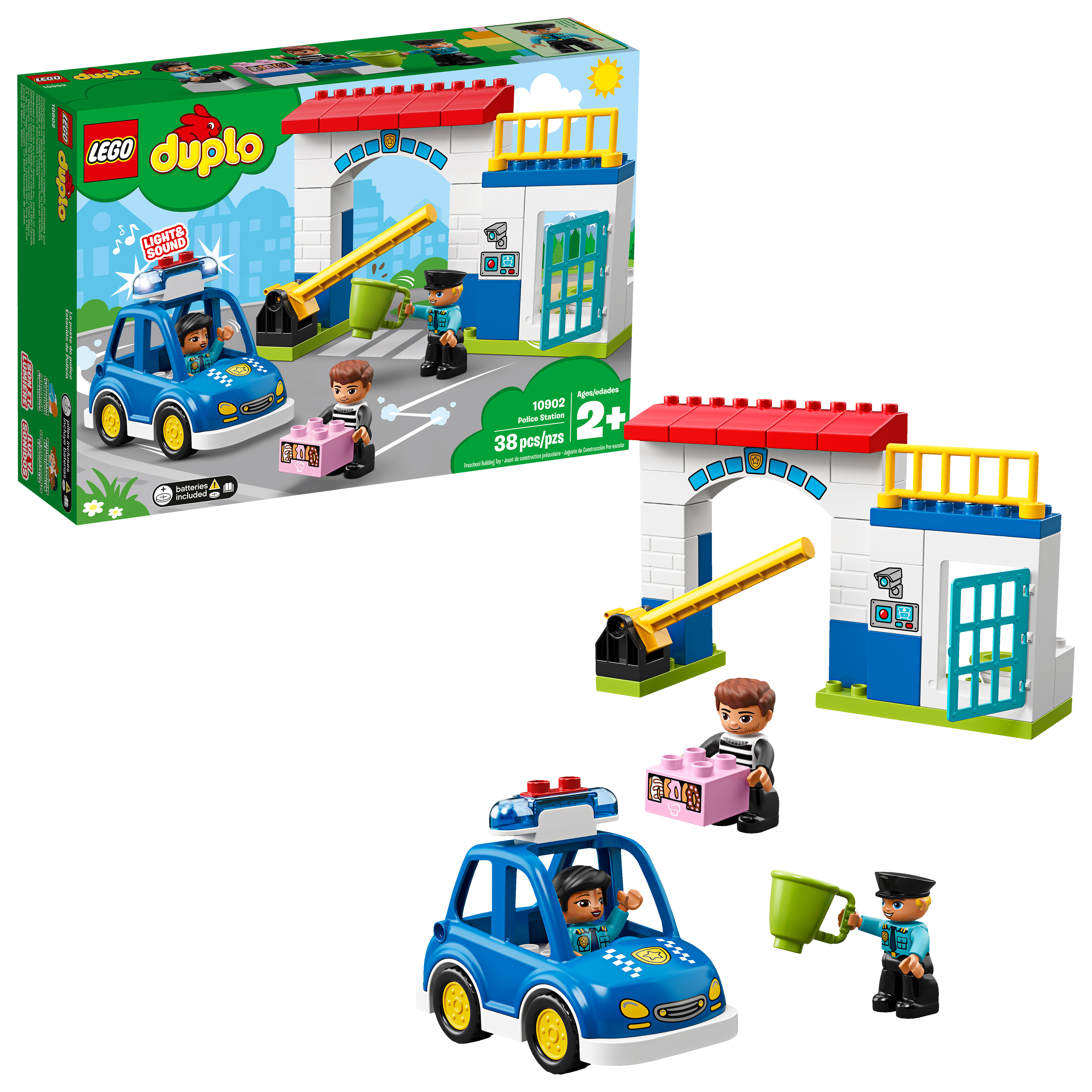 LEGO DUPLO Town Police Station 10902 Preschool Building Set