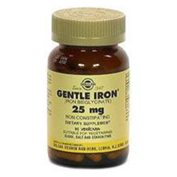 WP000-Gentle 33984000000 Gentle Iron Vegicaps 90 Per Bottle From Solgar Vitamin & Herb Co -# 33984000000