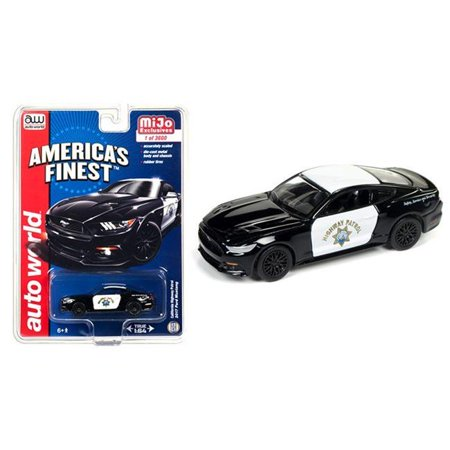 Autoworld CP7475 2017 Ford Mustang GT Americas Finest California Highway Patrol to 1 by 64 Die-Cast Model Cars - 3600 Piece - image 1 de 1