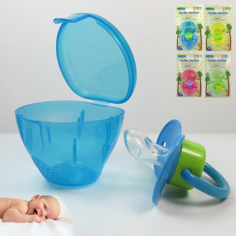 3X Baby Pacifier BPA Free Infant Newborn Dummy Orthodontic Sterilizer Travel Box