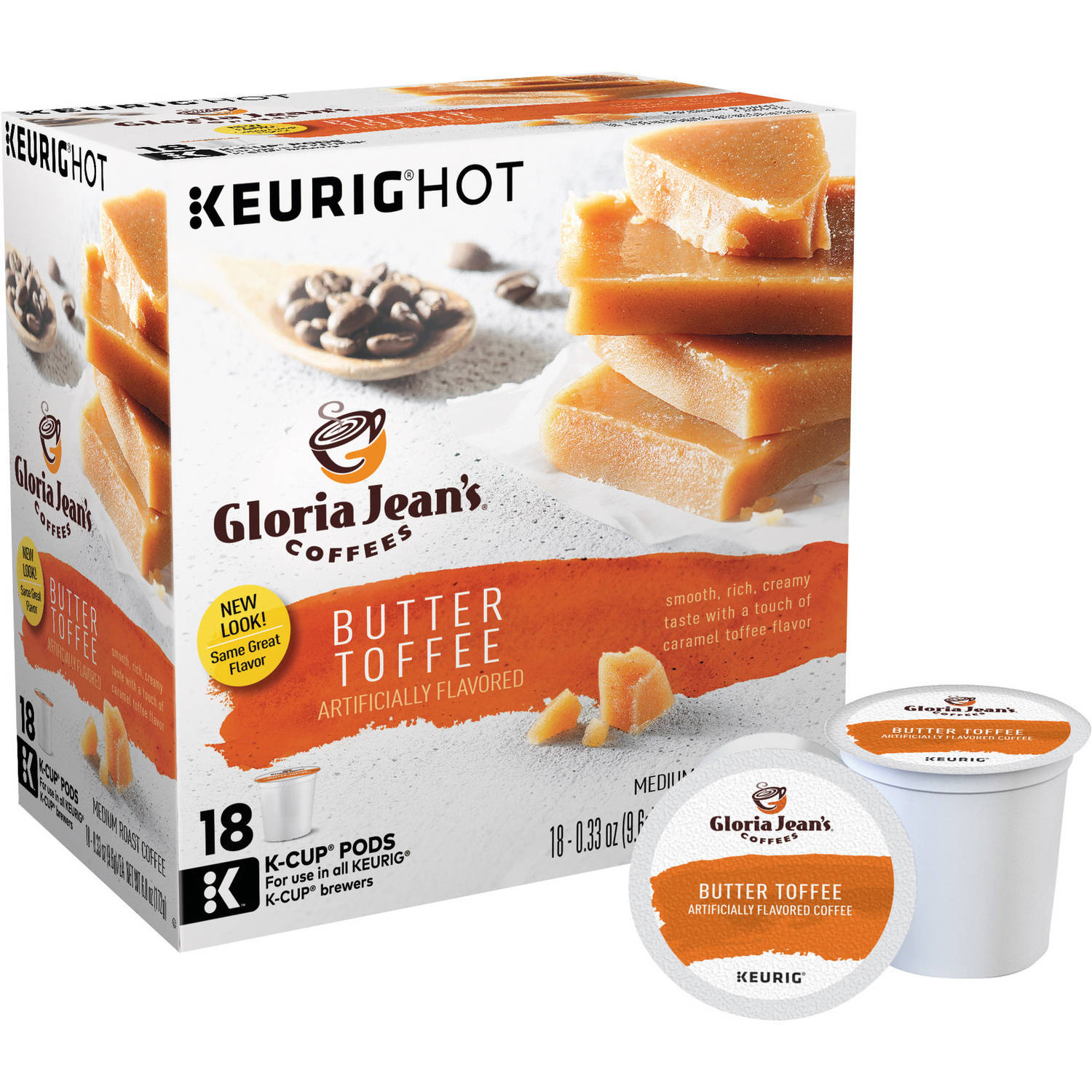 Keurig K-Cups Gloria Jean's Coffee, 18 count