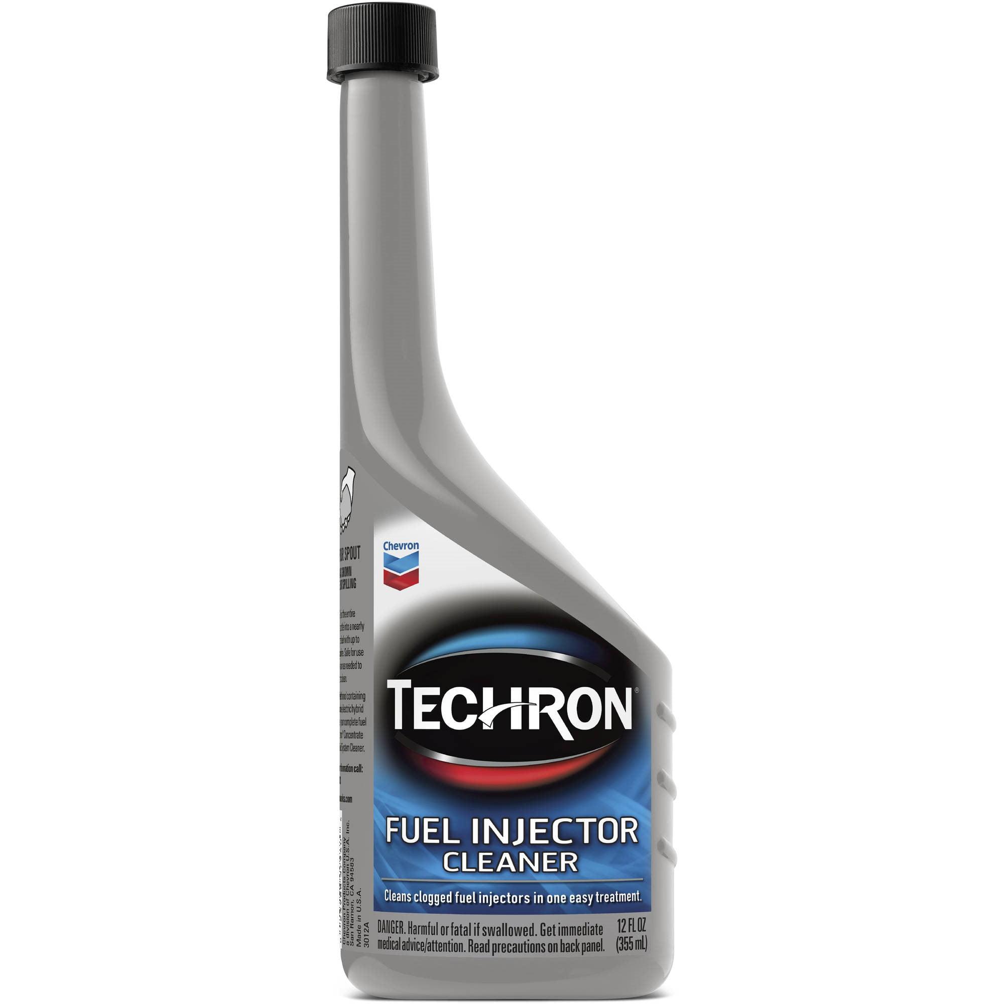 Chevron Techron Fuel Injector Cleaner, 12 oz by Techron