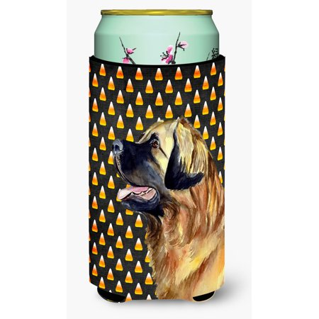 Leonberger Candy Corn Halloween Portrait Ultra Beverage Insulators for slim cans LH9043MUK