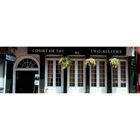 Facade of a Restaurant, Court of Two Sisters Restaurant, New Orleans, Louisiana, USA Print Wall Art By Panoramic (The Court Of Three Sisters New Orleans)