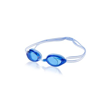 Speedo Jr. Vanquisher 2.0 Anti-Fog Swim Swimming Pool Competition Goggle, Blue