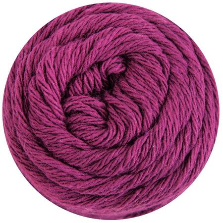 Mary Maxim Dishcloth Cotton Yarn - Raspberry