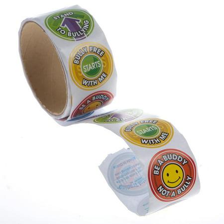 Anti Bullying Color (Anti-Bullying Sticker Roll)