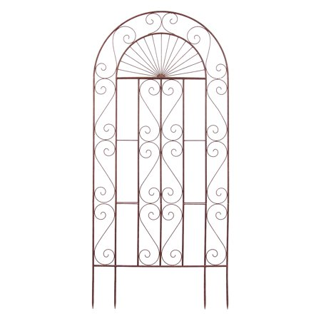 Deer Park Ironworks Sunset Garden Steel Trellis