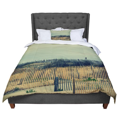 East Urban Home Robin Dickinson Carova Dunes Beach Comforter