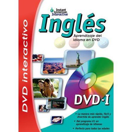 Instant Immersion Ingles Language Learning Dvd Game