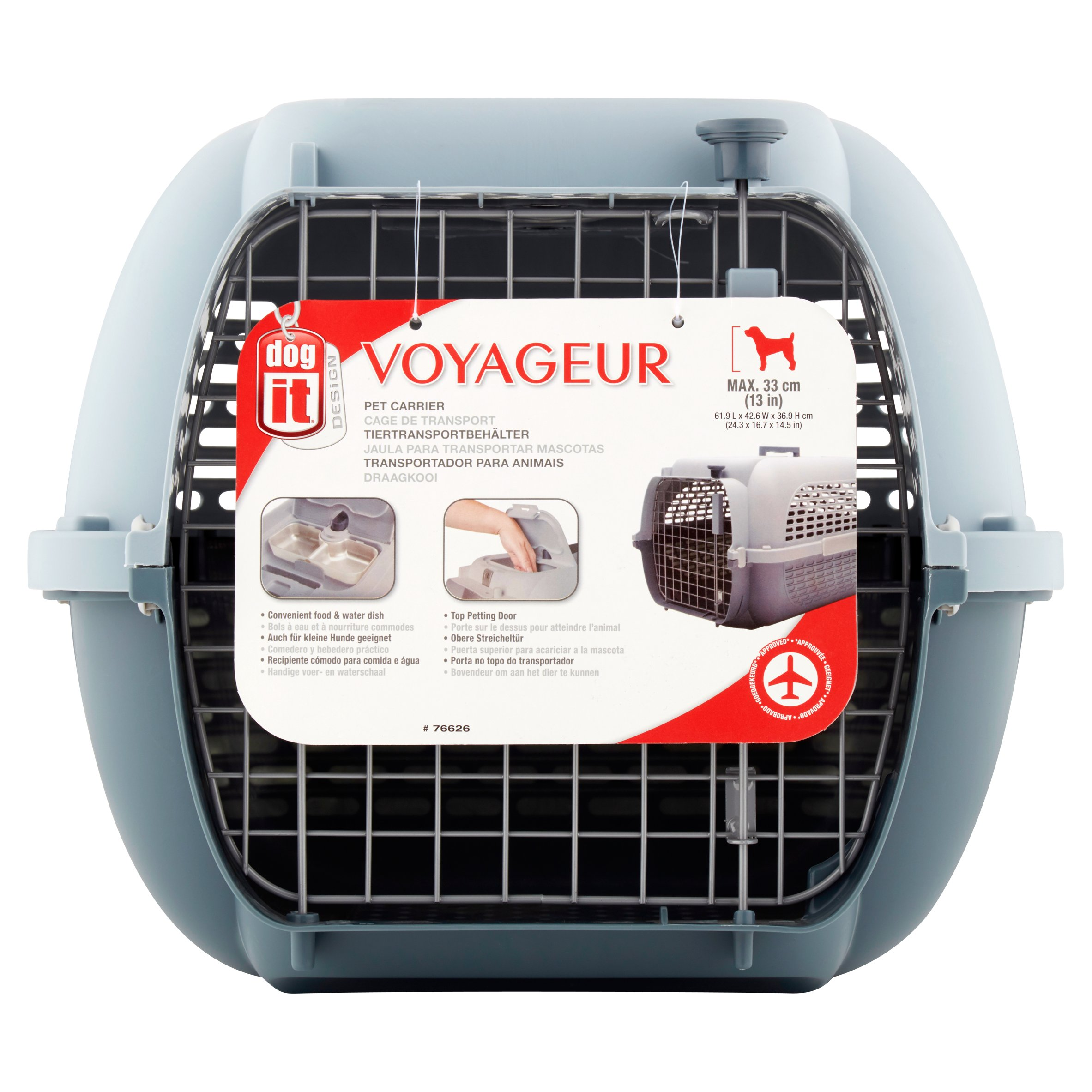 Dog It Voyageur Pet Carrier by Wal-Mart Stores, Inc.