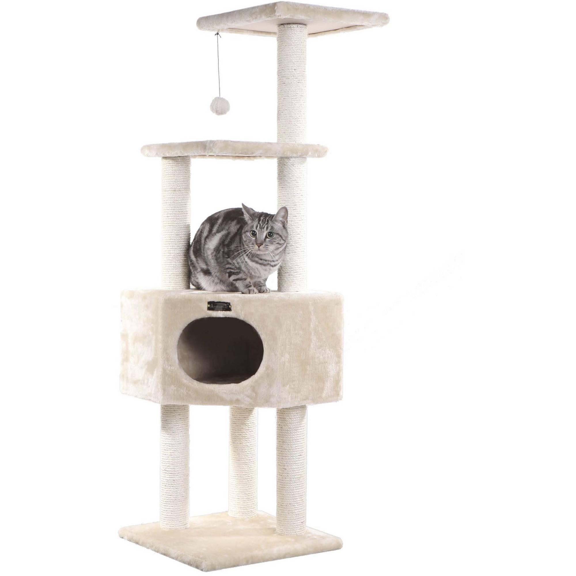 Armarkat Classic Cat Tree Model A6501, 65 inch Beige