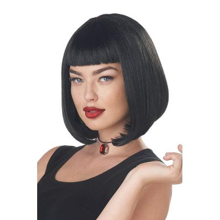 John Travolta Pulp Fiction Wig (90's Pulp Film Icon Adult Wig)