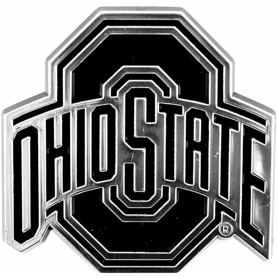 NCAA Ohio State Chrome Emblem