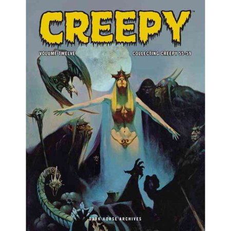 Creepy Archives 12: Collecting Creepy 55-59 by