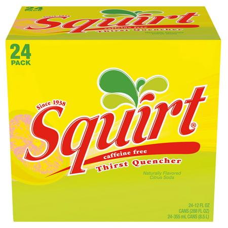 Squirt Caffeine-Free Soda, 12 Fl. Oz., 24 Count