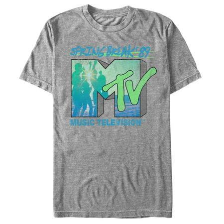 Mtv Mens Spring Break 1989 T Shirt