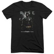 Dark Knight Rises Batman Rise Mens Tri-Blend Short Sleeve Shirt