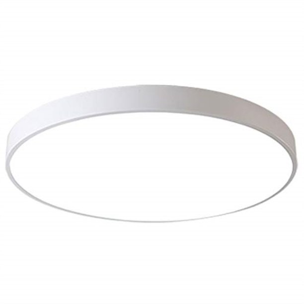 Ganeed Led Ceiling Lights 24w 12 Inch Modern Ceiling Lamp Flush Mount Lighting Fixture Round 6500k Cool White Ceiling Lighting For Dining Hallway Living Kitchen Bedroom Room Walmart Com Walmart Com